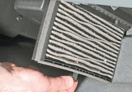 как заменить воздушный фильтр салона chevrolet lacetti