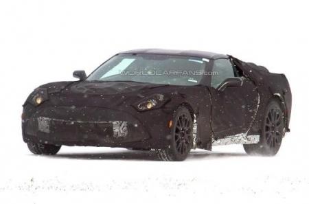 Новый Chevrolet Corvette C7 в Северной Европе