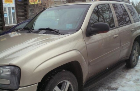 Отзыв автовладельца Chevrolet TrailBlazer 2004 г.в.
