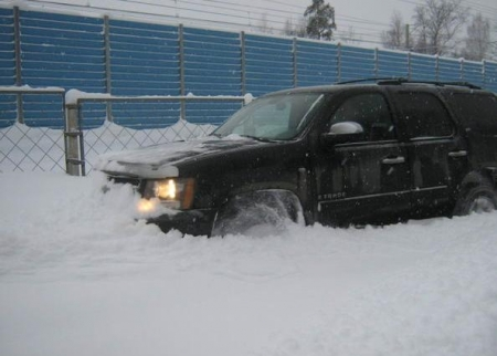 Отзыв о Chevrolet Tahoe 5.3 AT (2008 г.в.):