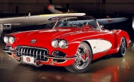 Pogea Racing Chevrolet Corvette 1959