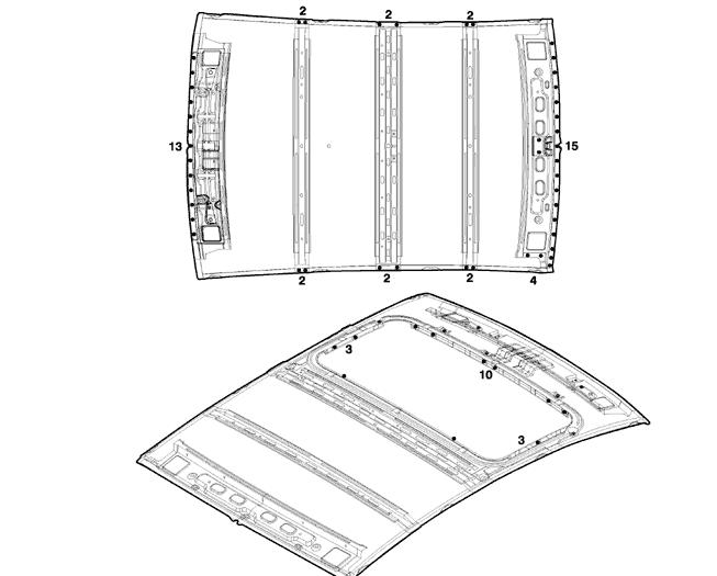 Ремонт крыши Шевроле Эпика