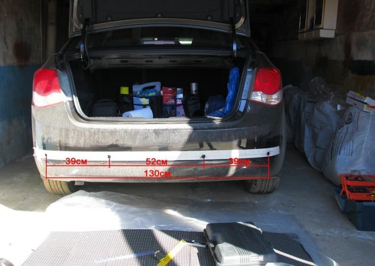 установка парктроника на chevrolet spark