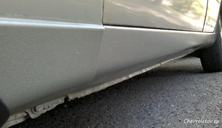 ремонт кузова от ржавчины chevrolet lanos