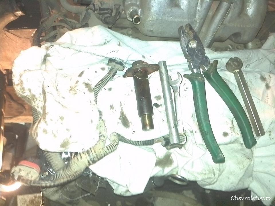 Замена вентилятора на нива шевроле