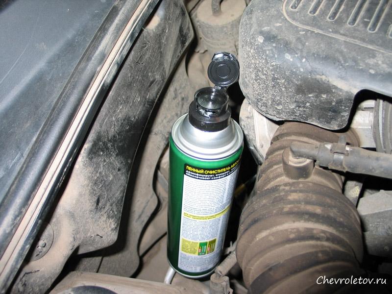 Фото № 2627 Авто шевроле лачетти универсал кондиционер под капотом