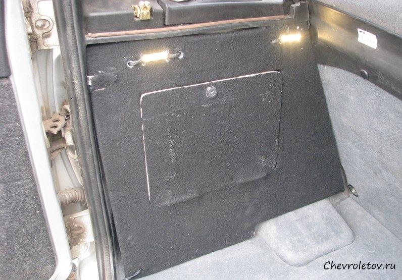 Органайзер в багажник нива