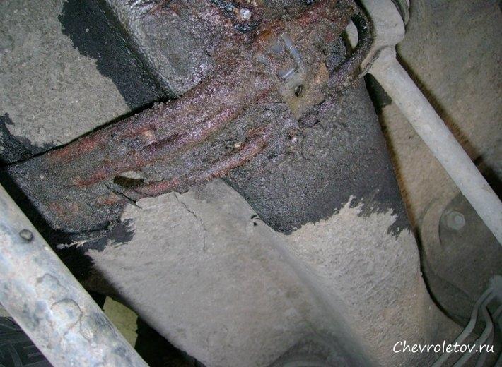 Ремонт заднего бампера шевроле