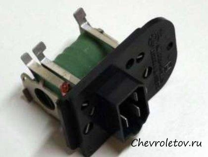 резистор вентилятора печки chevrolet epica