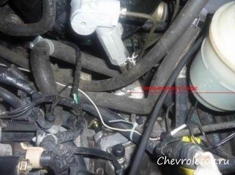установка электроподогрева двигателя chevrolet cobalt