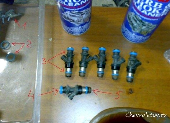 Промывка инжектора и форсунок своими руками ланос