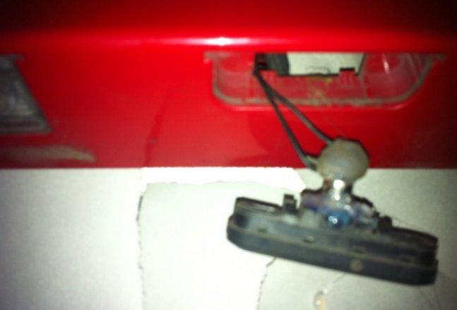 кнопка багажника на chevrolet cruze