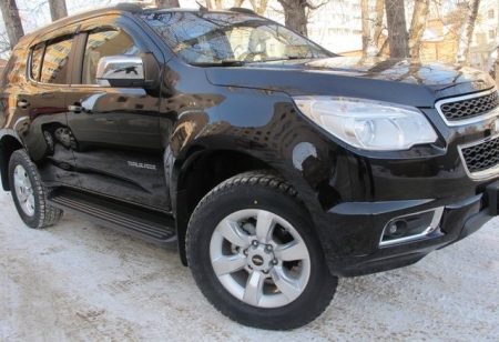 Chevrolet TrailBlazer 2013 - отзыв