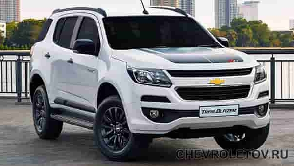 Chevrolet Trailblazer: расход топлива на 100 км