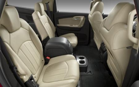 Тест-драйв Chevrolet Traverse 2009 » Все о Шевроле, Chevrolet, Фото, видео, ремонт, отзывы