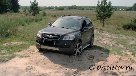 Отзыв Chevrolet Captiva 2.4 4WD (2010 г.в.)