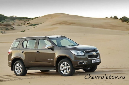 Тест-драйв Chevrolet TrailBlazer (2013)
